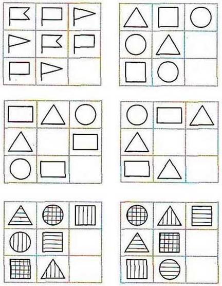 логическое мышление в картинках